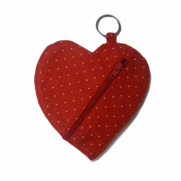 قیمت خرید کیف هندزفری دست ساز مدل قلب