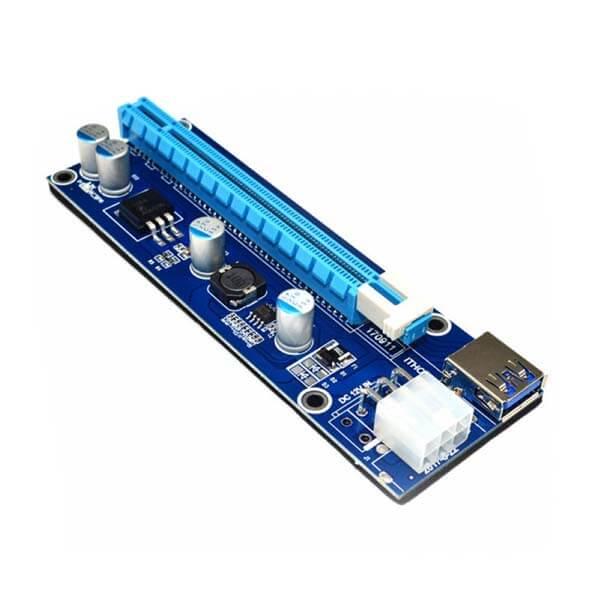 قیمت خرید رایزر کارت گرافیک تبدیل PCI EXPRESS 1X به 16Xمدل 008S مناسب برای لپتاپ