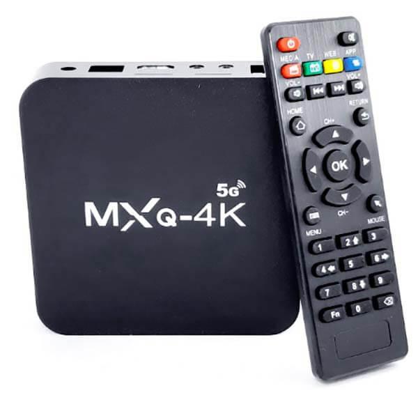 قیمت خرید اندروید باکس مدل MXQ-4K