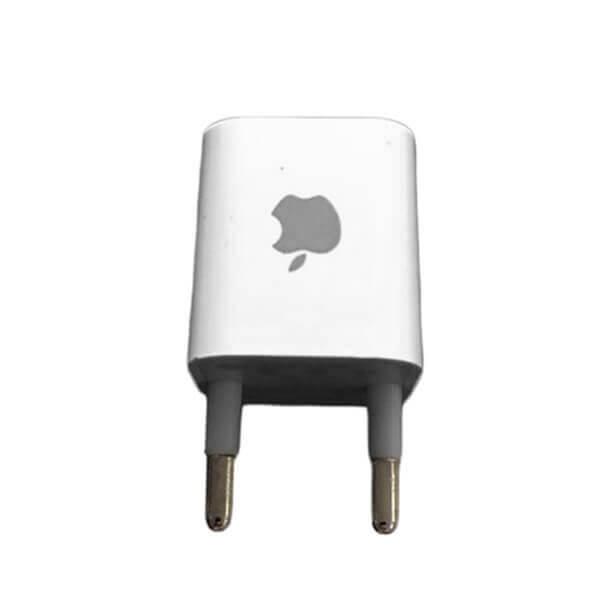 قیمت خرید شارژر دیواری اپل 5 ولت 0.5 آمپر