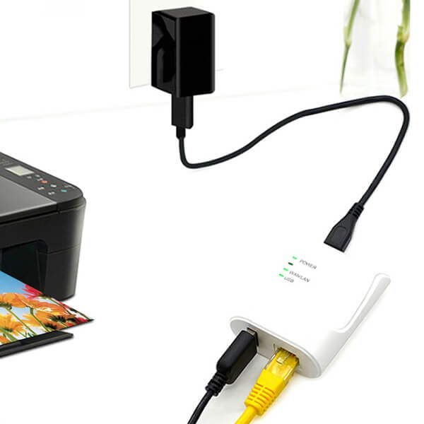 پرینت سرور USB2.0 لمونتک مدل KP-U101