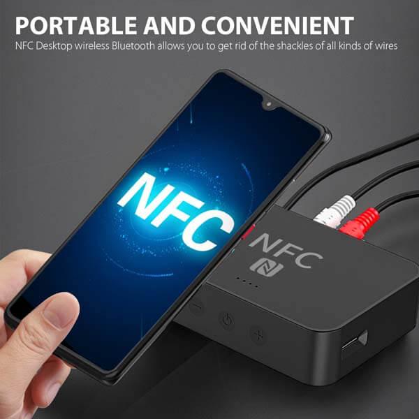 قیمت خرید اینترنتی و مشخصات گیرنده استریو بلوتوث NFC مدل Yet-R6 (2)