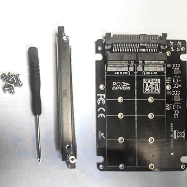 قیمت خرید تبدیل اس اس دیM.2 به U.2 (انواع هارد M2 به U.2 SFF-8639)