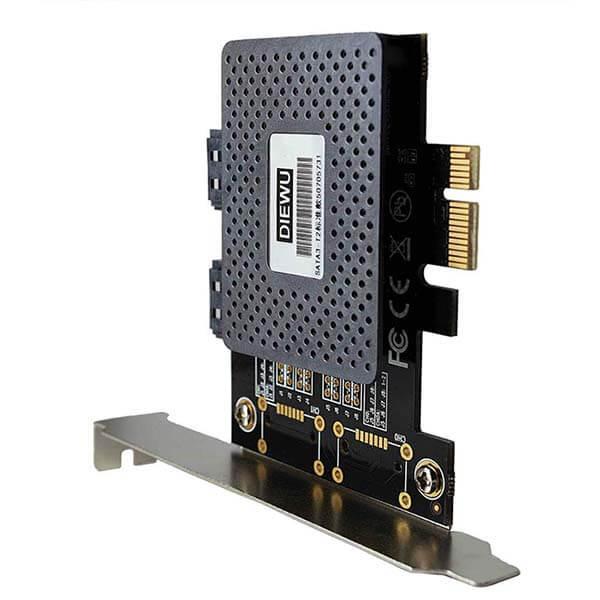 قیمت خرید کارت تبدیل SATA و eSATA به PCI-e