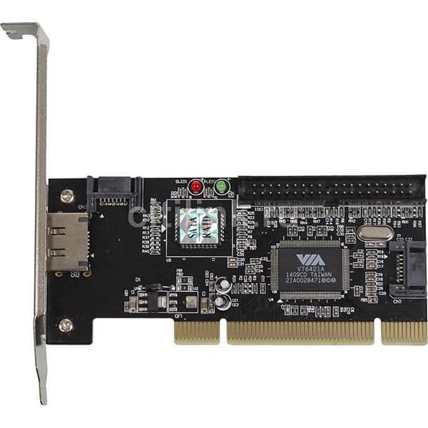 قیمت خرید کارت تبدیل اینترنال SATA و IDE به PCI