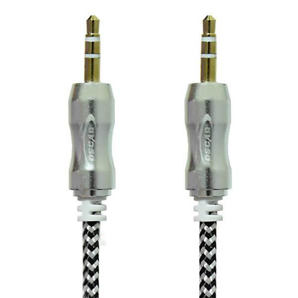 قیمت خرید کابل AUX اسکار مدل V-C301 به طول یک متر
