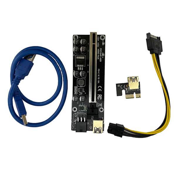 قیمت خرید رایزر کارت گرافیک تبدیل PCI EXPRESS 1X به 16Xمدل 009S plus