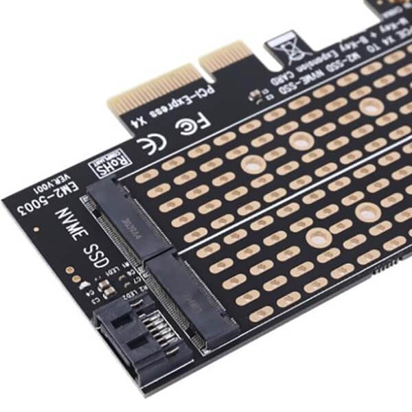 قیمت خرید کارت تبدیل m.2 NVME به PCI-e 4x