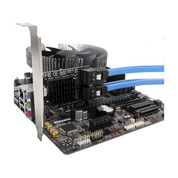 قیمت خرید کارت SATA III چهار پورت PCI-e