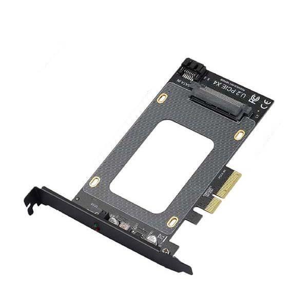 کارت تبدیل اس اس دی U.2 SFF-8639 به PCI-e 4x