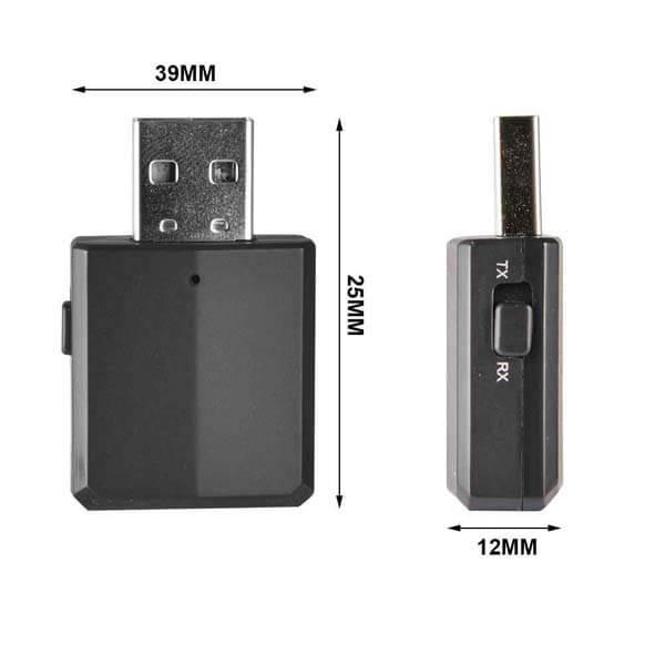 قیمت خرید دانگل گیرنده و فرستنده بلوتوث صدا مدل ZF169